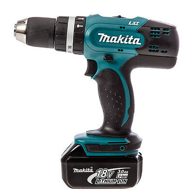 MAKITA DHP453 18v LXT Combi Drill with 1 x 3.0Ah Battery & DC18SD Charger