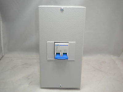 Chint 100 Amp 125 Amp 2 Pole 4 Pole Metalclad Isolator Switch Main Switch Swa