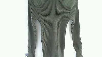 army jumper size 82cm jersey mens heavy olive long sleeved