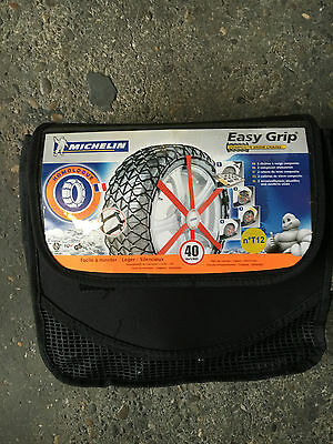 Chaines Neige MICHELIN composites EASY GRIP T12