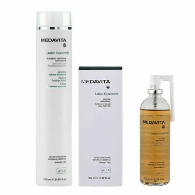 MEDAVITA Lotion Concentree Anticaduta Lozione Medatonic 100ml + Shampoo 250ml
