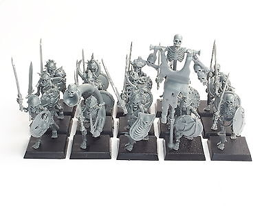 Vampire Counts Skeleton Warriors 15 Figure Regiment. Assembled. Cr