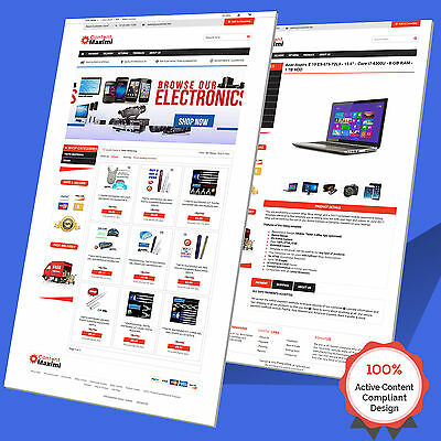 Mobile Responsive eBay Store Design & Listing Template 2017 Approved Multi Use