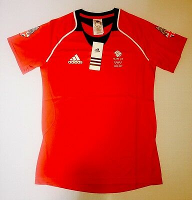 Team GB Function Tee Sochi 2014 Olympics Training ATHLETE ISSUE BNWT S UK 10