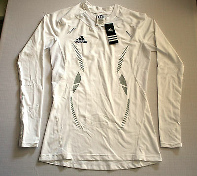 Team GB Techfit Training Top Adidas Power Web Olympic ATHLETE ISSUE BNWT L 44/46