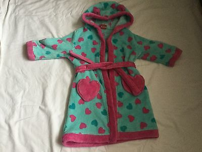 Girls Miniclub (Boots) Dressing Gown Age 2/3 Years