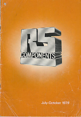 RS COMPONENTS LTD - RARE JULY - OCT 1979 CATALOGUE - FUSES - MICROSWITCHES etc.