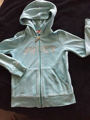 girls juicy couture tracksuit Age 7 PLAYWEAR