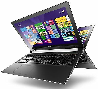 "LENOVO Flex 2 15.6"" Convertible Touchscreen Laptop i5 8GB RAM 1TB EX-DISPLAY cub"