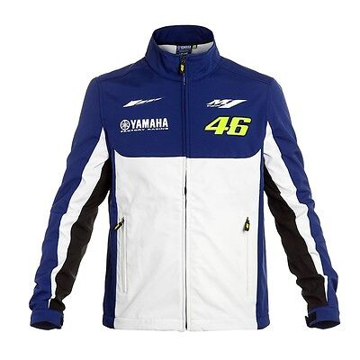 2016 OFFICIAL Valentino Rossi Yamaha VR46 Moto GP Soft Shell Jacket Coat - NEW