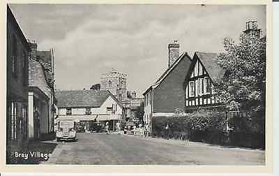 Early Postcard -Bray Village - Co. Wicklow - Ireland  -Real Photo