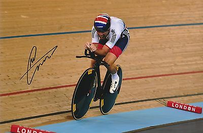 Cycling Mark Cavendish Original Hand Signed Photo 12x8 With COA
