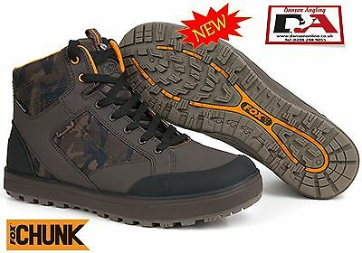 Fox Chunk Camo Mid Boots / Fox Boots All Sizes *Brand New 2017*