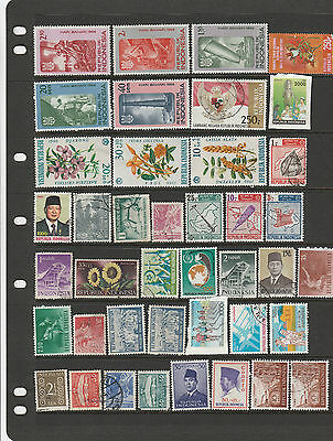 Over 160 Indonesia Stamps