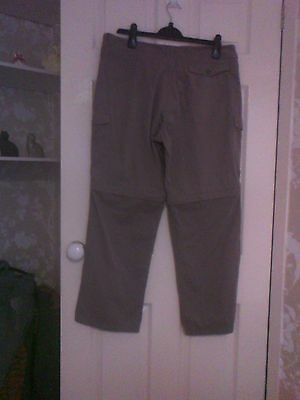 Ladies Craghoppers walking trousers size 16