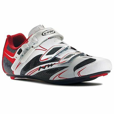 Northwave, Sonic SRS, Road shoes, Men's, White/Red, 44