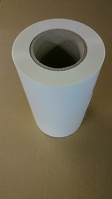 Roll of Thermal Lamination Film, 24cm x 300m x 29.5mic Matt Polyester 76mm core