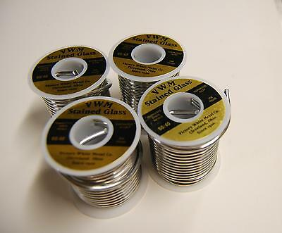 (4) LBS 60/40 SOLDER - Stained Glass Supplies