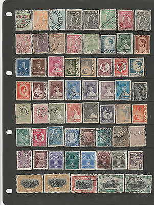 Over 280 Romania Stamps