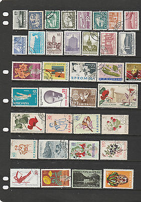 Over 230 Romania Stamps