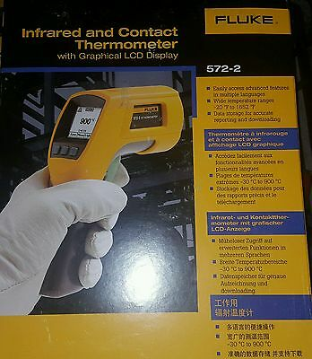 Fluke 572-2 contact and infrared thermometer