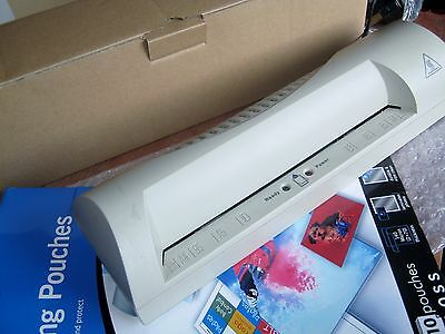 Tesco A4 Laminator For Documents Posters Photos Model H16L-01