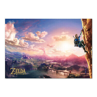 The Legend of Zelda: Breath of the Wild Poster - High Quality Prints