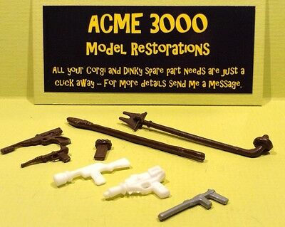 Star Wars Action Figure Replacement Repro Weapon Pack - Suitable For Kenner