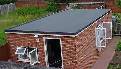 Firestone Rubbercover - Garage Roof Kit 3.5M X 6.1M (Single) Diy Rubber Roofing