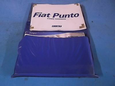 2004 Fiat Punto Owners Manual
