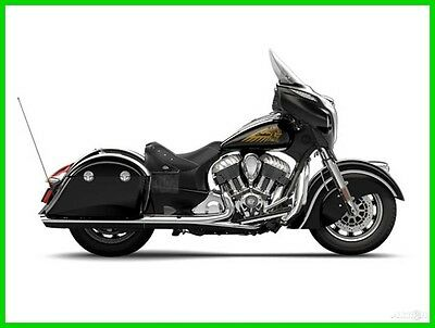 Indian Chieftain® Thunder Black 2015 Indian Chieftain Thunder Black NEW - No Reserve