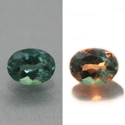 0.16Cts Oval Shape  100% Natural Color Change Alexandrite