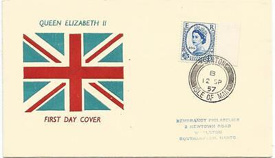First Day Cover of the 46th Parliamentary Conference 12th September 1957