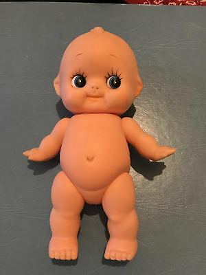 Vintage 8 Inch Rubber Kewpie With Movable Arms And Legs