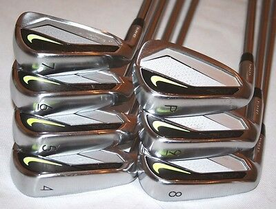 Nike Vapor Pro Combo forged 4-PW iron set with S300 shafts LEFT HANDED +1/2""