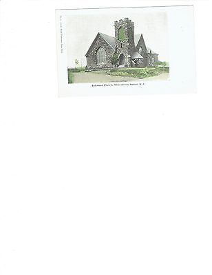 Reformed Church, White House Station, New Jersey postcard unused