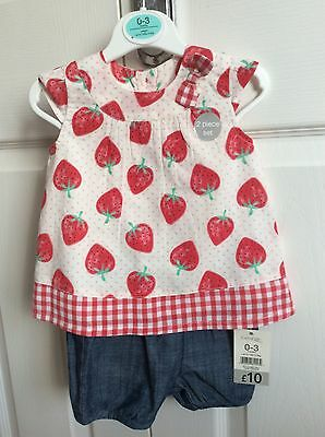 George baby girl outfit - 0-3 months