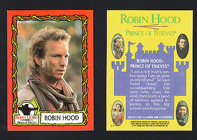 Robin Hood Prince Of Thieves - Topps 1991 (55 card / 9 sticker complete set)