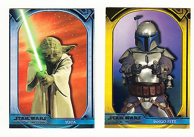 Star Wars Attack Of The Clones  - Topps US 2002 (100 card complete set)