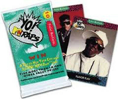 Yo! MTV Raps Trading Cards (Pack Of 10) (Series 1) NEW Sealed COLLECT THEM ALL!!