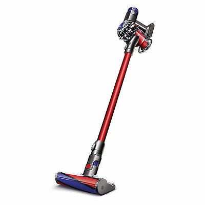 * Dyson V6 SV09 Absolute Plus Cordless Bagless Vacuum Cleaner, Nickel Red