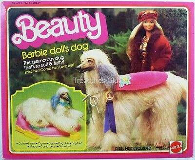 Barbie Beauty Dog Set #1018 Excellent Condtion in Box 1979 Mattel, Inc.