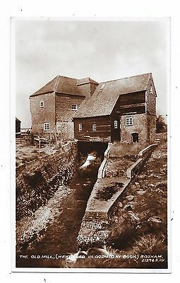 Superb Real Photographic Postcard Of The Old Mill Bosham Sussex