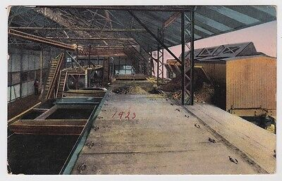 Costa Rica Postcard To USA Drying Cocoa 1923 JBP