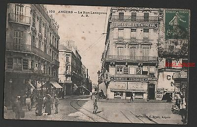 49 - Cpa Angers Carte Postale Ancienne Animee