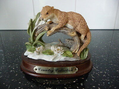 Country Collection Otter Figurine