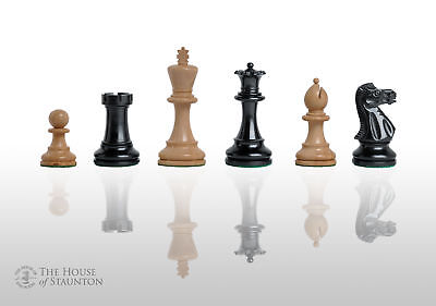 """The Grandmaster Chess Set - Pieces Only - 4.0"""" King - Ironwood"""