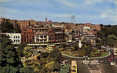 RX009 Old-fashioned-sized 1960s POSTCARD The Square - Bournemouth - Posted 1967