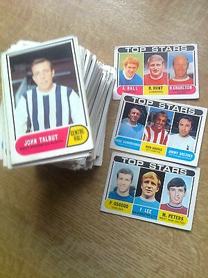 3 Sets- 3 Series 171 A&bc Football Gum Cards 1969 Green Back + The 3 Checklists