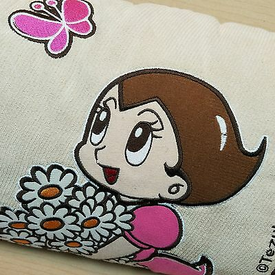Uran Astro Girl Sarah Zoran Pillow Anime Tezuka Productions Butterfly Flowers